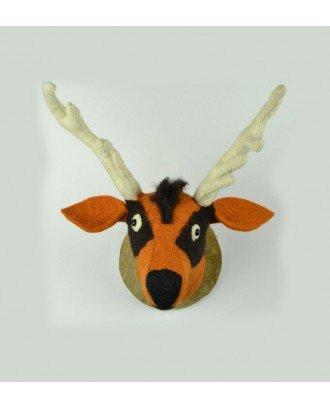 Handmade Felt Animal Head
