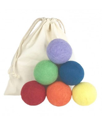 Mix Felt Wool Dryer Balls