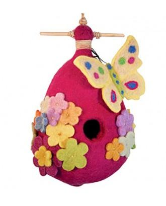 Handmade Felt Bird House