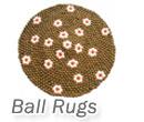 Handmade Felt Ball Rugs