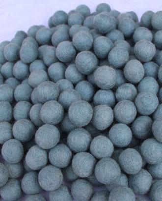 Handmade Felt ball 2 Cm