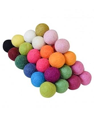 Handmade Felt ball 1 Cm