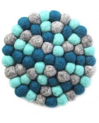 Handmade Felt Ball Trivet