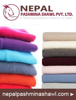 Nepal Pashmina Shawl, Pashmina in Nepal Wholesaler