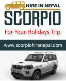 Scorpion Jeep Hire in Kathmandu Nepal